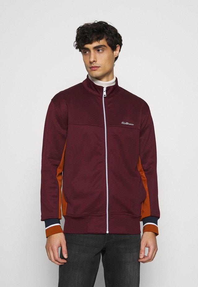 TRICOT ZIP THROUGH - Training jacket - port