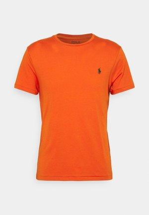 CUSTOM SLIM FIT CREWNECK - T-Shirt basic - college orange