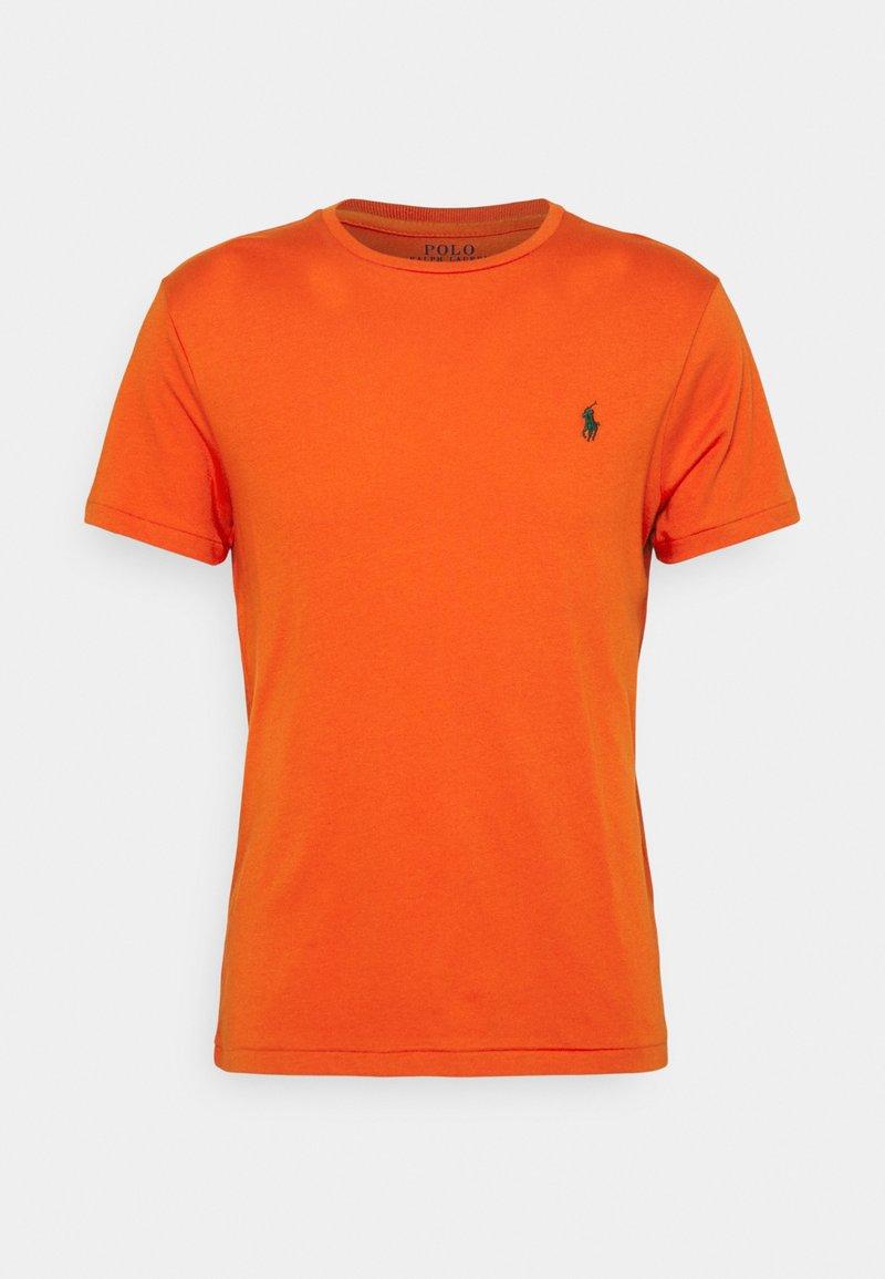 Polo Ralph Lauren - CUSTOM SLIM FIT JERSEY CREWNECK T-SHIRT - Basic T-shirt - college orange