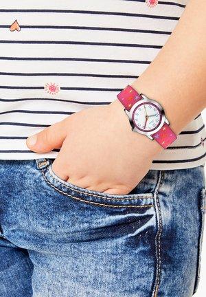 Watch - weiß/pink