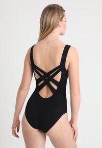 Skiny - YOGA RELAX PERFORMANCE ÄRMELLOS - Body - black - 2