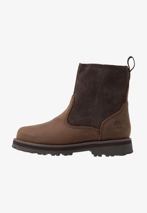 COURMA WARM LINED BOOT  - Botki - dark brown
