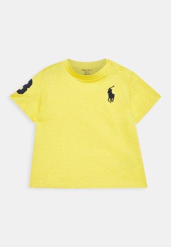 Print T-shirt - signal yellow