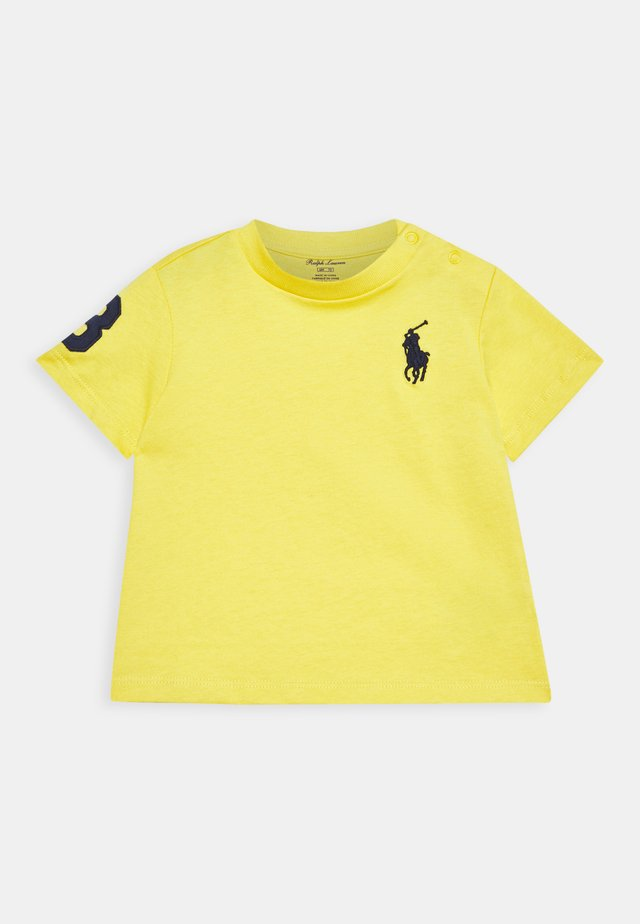 Print T-shirt - signal yellow