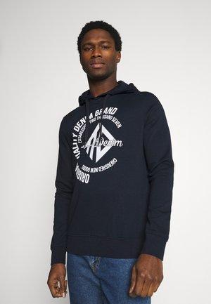 HOODY WITH PRINT - Sweatshirt - sky captain blue