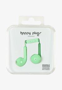 Happy Plugs - PLUS DELUXE - Headphones - mint - 0