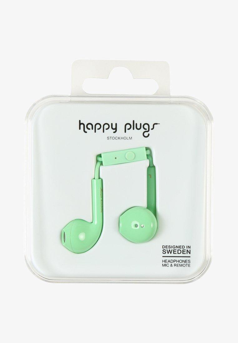 Happy Plugs - PLUS DELUXE - Headphones - mint