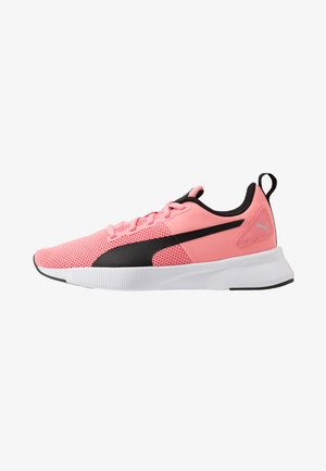 FLYER RUNNER JR UNISEX - Neutral running shoes - salmon rose/black/white