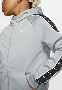 Nike Sportswear - HOODY TAPE - Sweater met rits - particle grey - 5