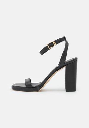 ANGELA ANKLE STRAP - Sandals - black