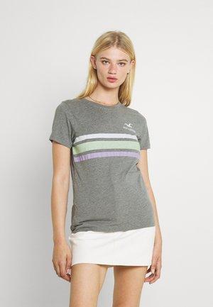 TEE - Camiseta estampada - grey