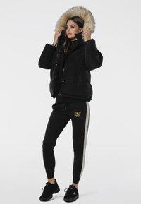 SIKSILK - Winter jacket - black - 1