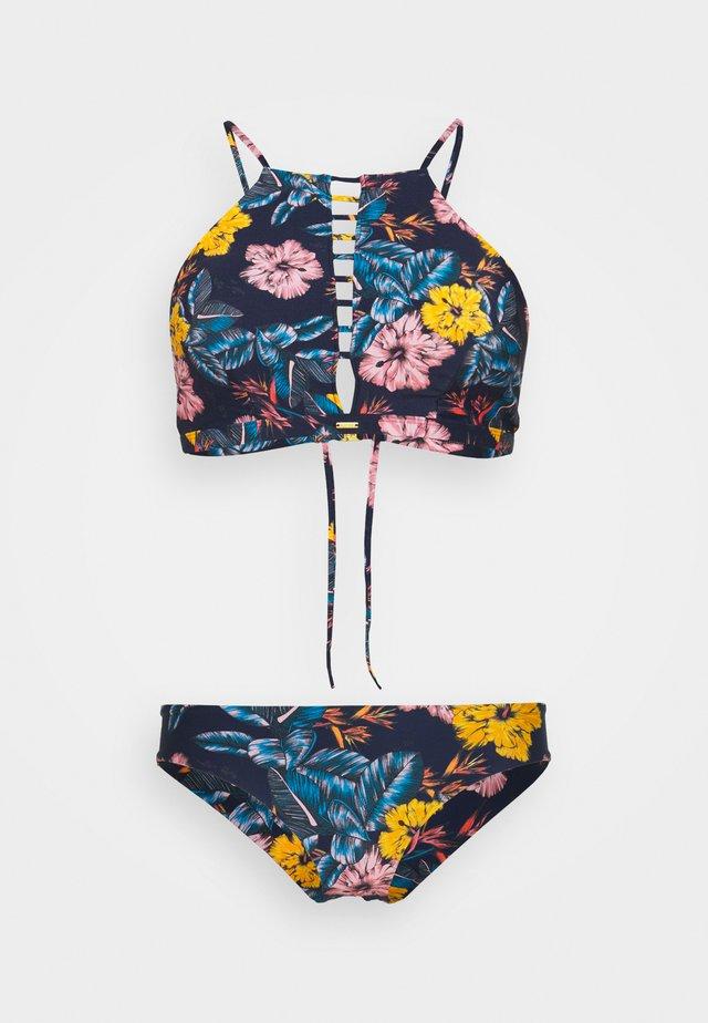 SOARA MAOI FIX SET - Bikini - blue