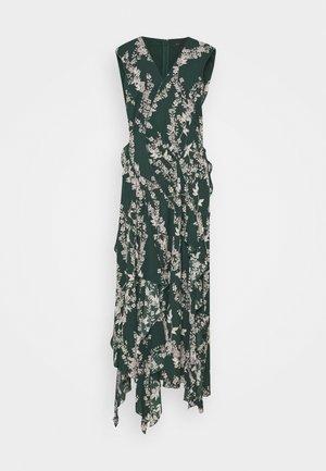 MIDI DRESS - Denní šaty - spruce-stream