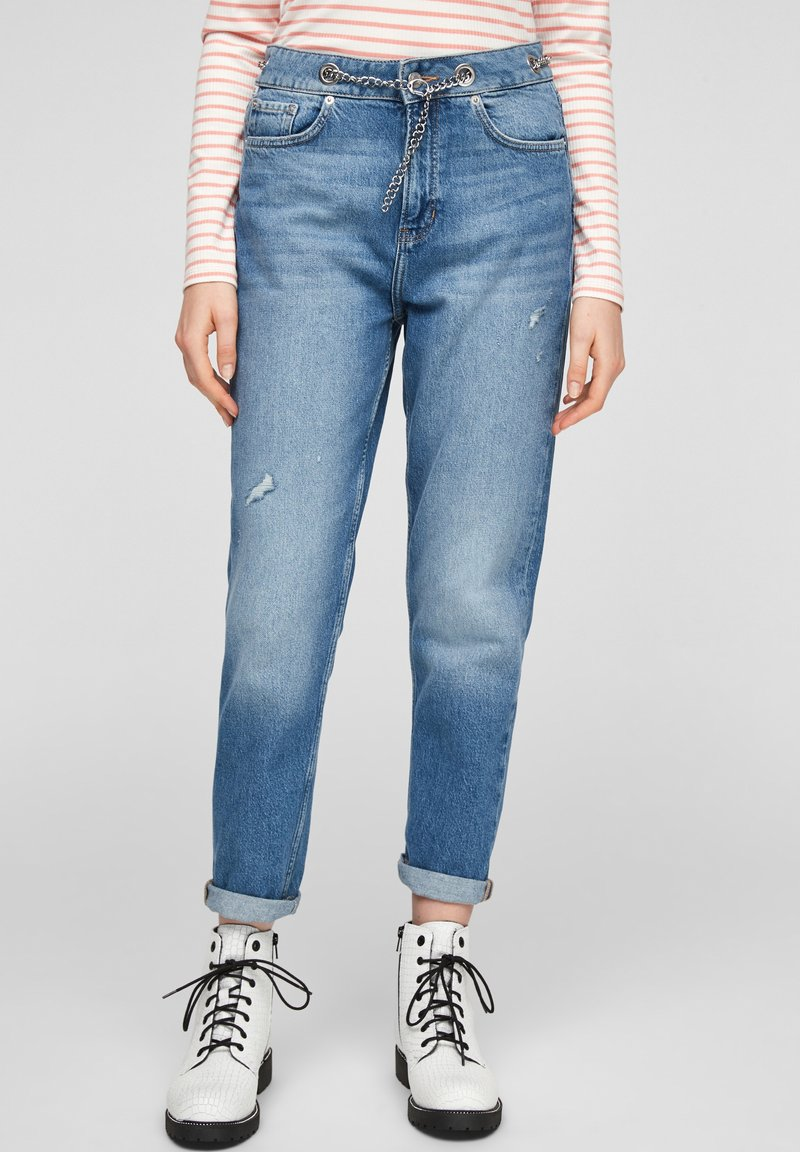 Q/S designed by - Jeans Tapered Fit - blue