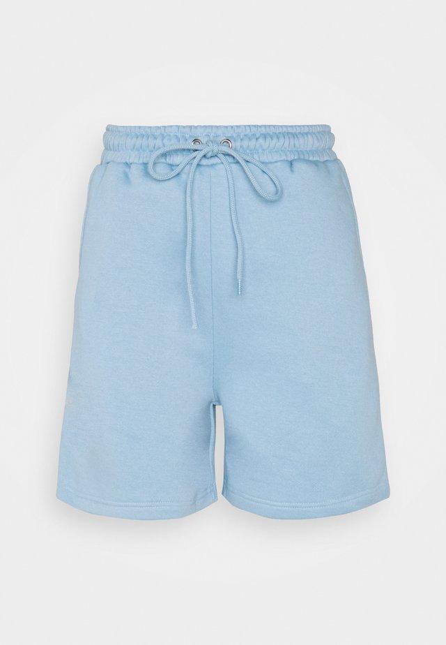 ELASTICATED WAISTBAND - Shorts - baby blue