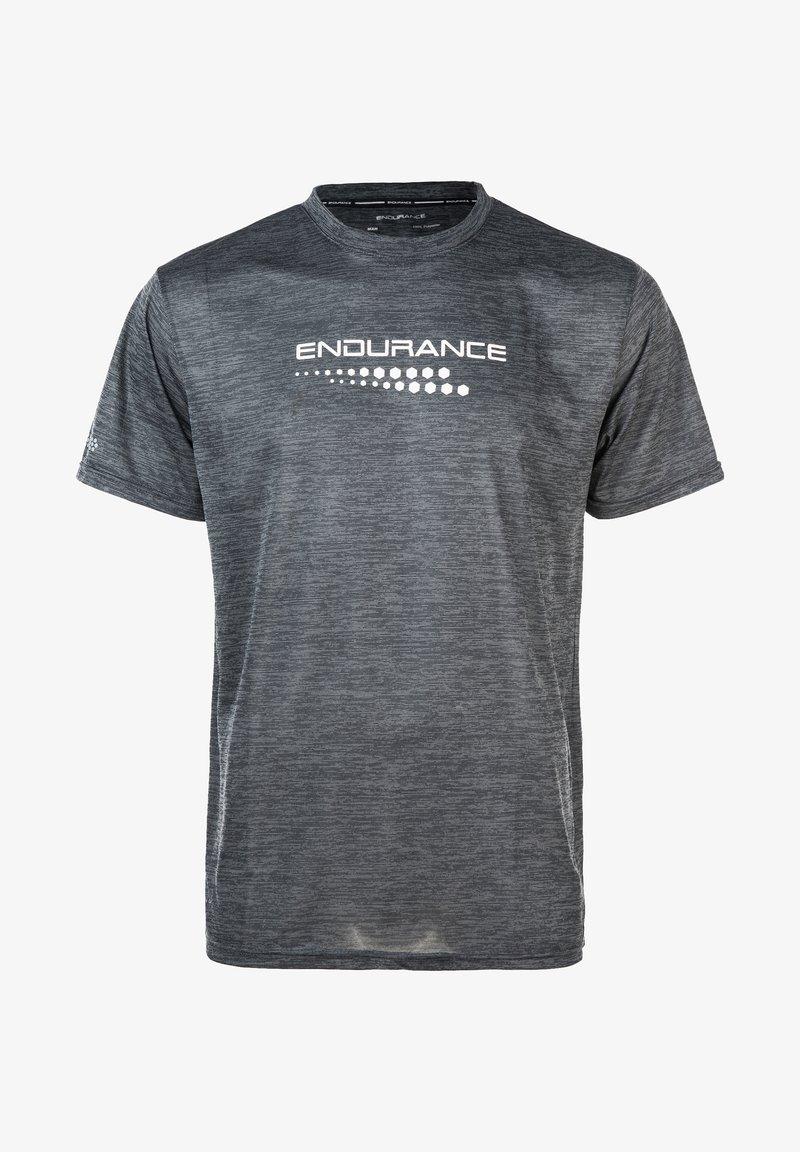 Endurance - Print T-shirt - mid grey melange