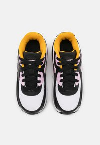 Nike Sportswear - AIR MAX 90 UNISEX - Baskets basses - black/light arctic pink/white/dark sulfur - 3