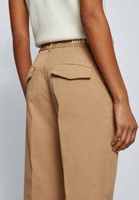 BOSS - TAROMA - Trousers - beige - 3