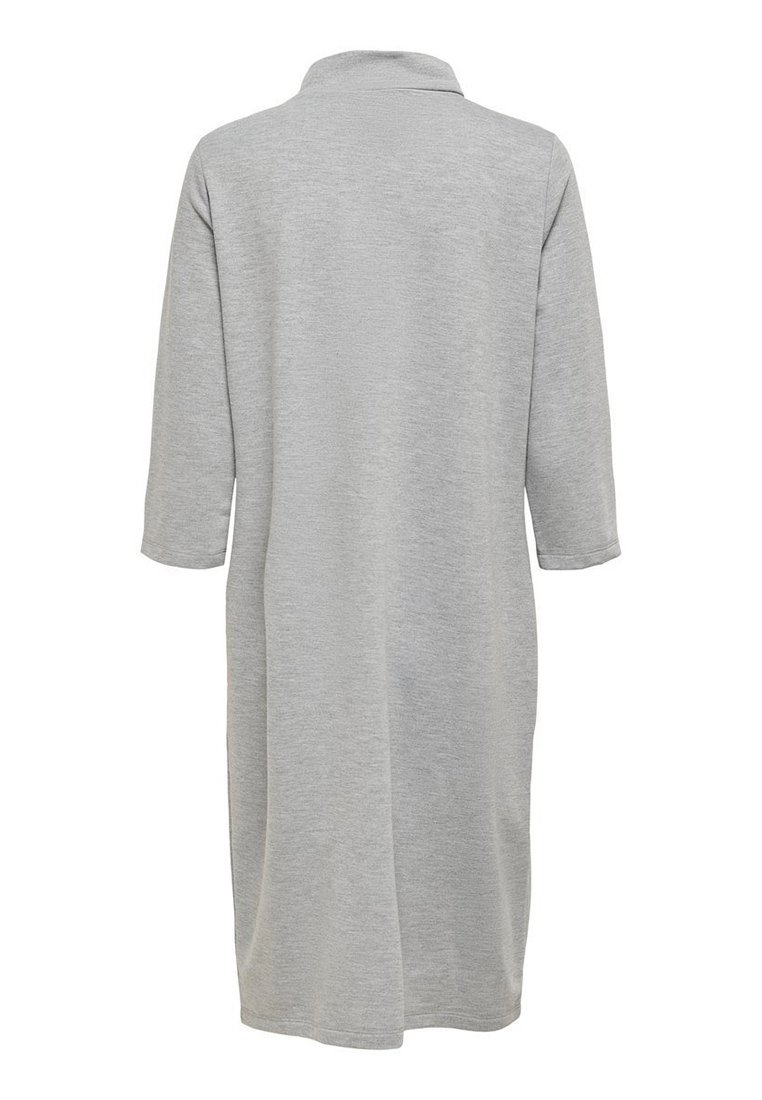 JDY Jerseykleid - light grey melange/hellgrau lzOobb