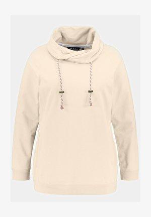 Sweatshirt - cremé