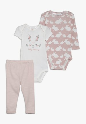 LITTLE CHARACTER BABY SET - Body - pink