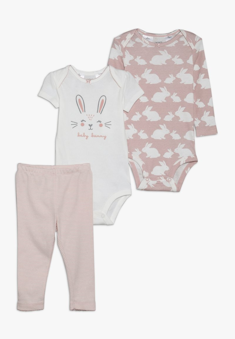 Carter's - LITTLE CHARACTER BABY SET - Body - pink