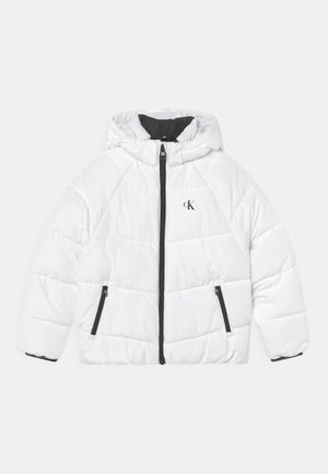 RELAXED PUFFER - Winter jacket - bright white
