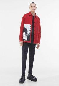 Bershka - Summer jacket - red - 1
