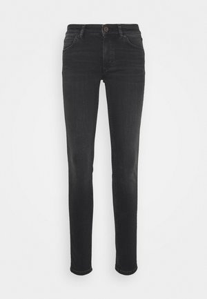LULEA SLIM - Slim fit jeans - black softwear wash