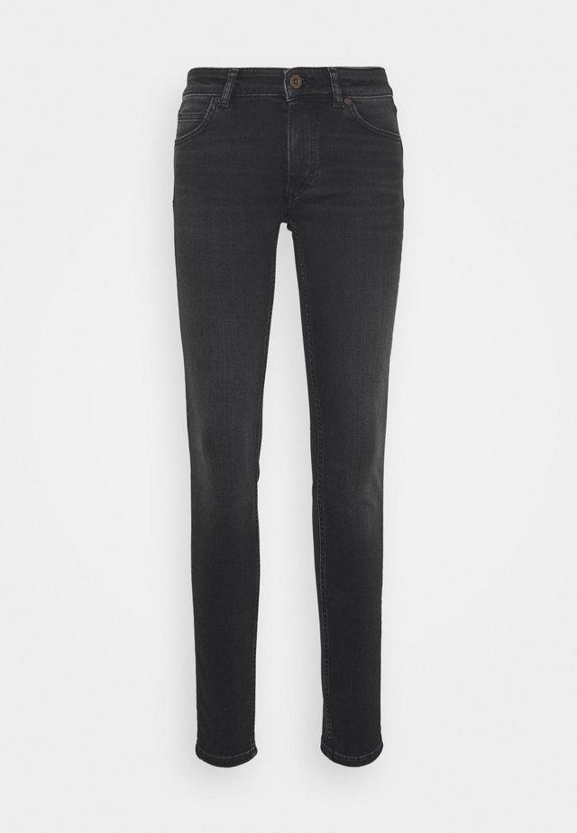 Džíny Slim Fit - black softwear wash