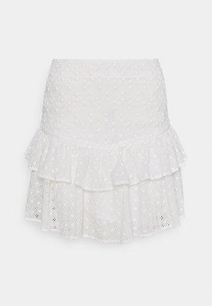 SERENITY SKIRT - Mini skirt - cream white