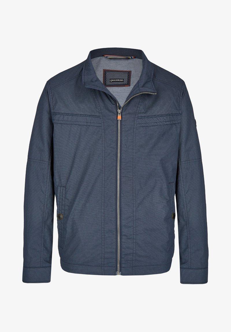 Calamar - MIT SCHUBTASCHEN - Summer jacket - blau
