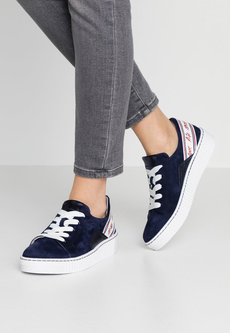 Gabor - Sneakers - bluette