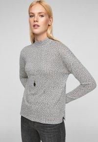 s.Oliver - Long sleeved top - grey aop - 0