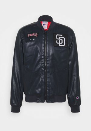 MLB PREMIUMSAN DIEGO PADRES BOMBER JACKET - Outdoorová bunda - dark blue