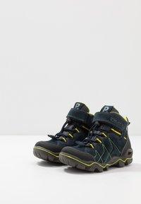 Primigi - Lace-up ankle boots - navy/nero/grigio - 3