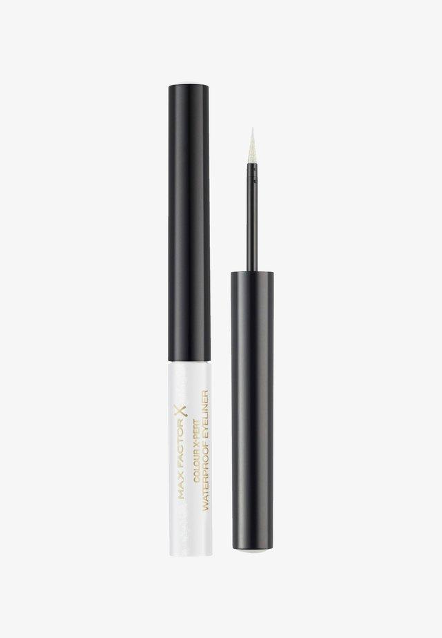 COLOUR X-PERT WATERPROOF EYELINER - Eyeliner - metalic white
