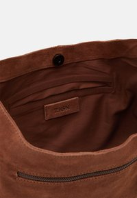 Zign - LEATHER - Handbag - cognac - 2