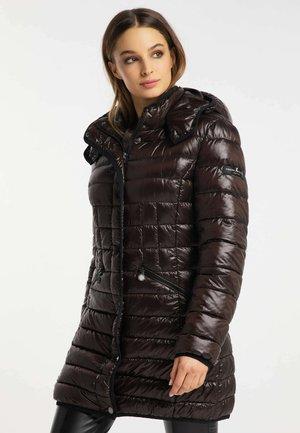 Winter coat - chocolate bar