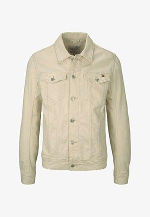 Denim jacket - unbleached natural bull denim