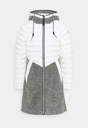 NOVARA - Zimný kabát - natural white