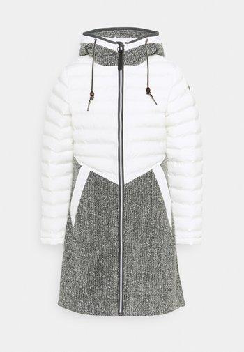 NOVARA - Cappotto invernale - natural white