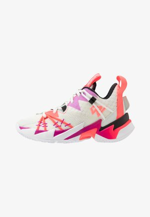 WHY NOT ZER0.3 SE UNISEX - Basketball shoes - sail/black/spruce aura/flash crimson/hyper violet
