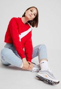Nike Sportswear - CREW - Sweatshirt - university red/white - 1
