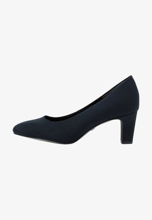 COURT SHOE - Classic heels - navy