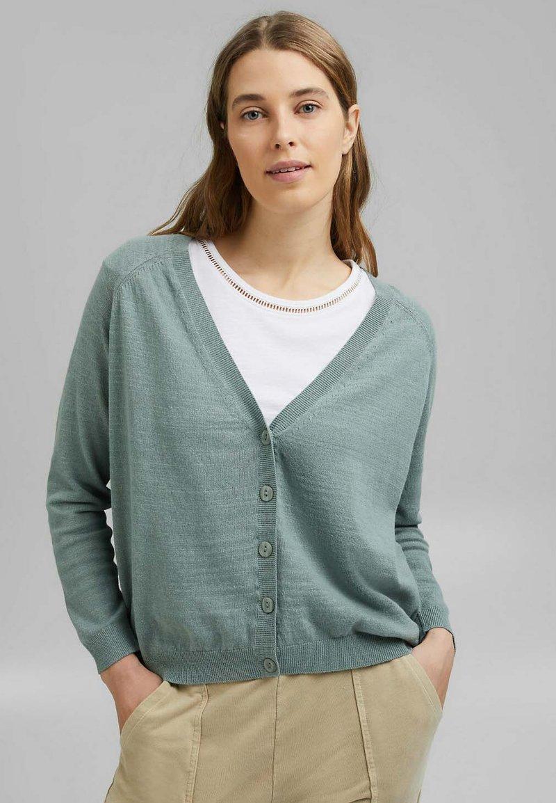 Esprit - Cardigan - turquoise