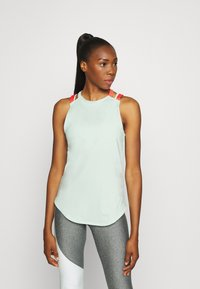 Under Armour - SPORT 2 STRAP TANK - Treningsskjorter - seaglass blue - 0
