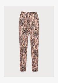 OLGA - Trousers - biscuit combi