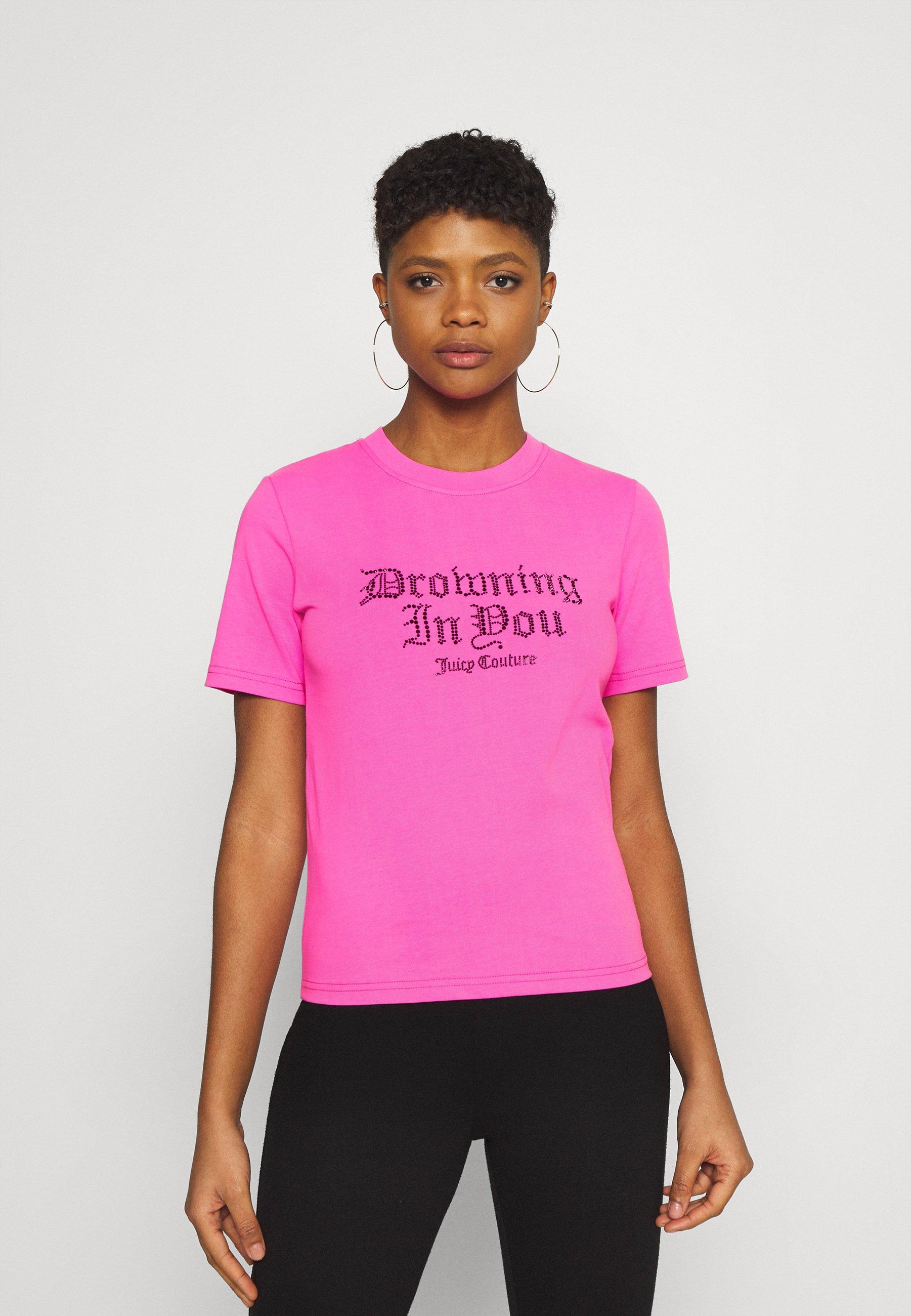 Women DROWNING  - Print T-shirt - pink